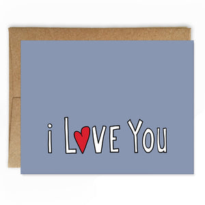 Simply Stated Love Card
