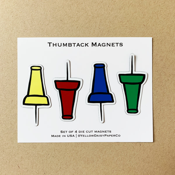 Thumbtack Magnet Set - NEW