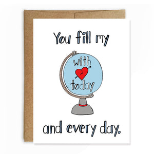 Fill My World with Love Card