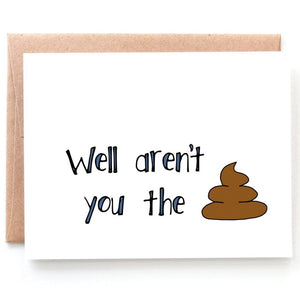 The Shit Congratulations Card