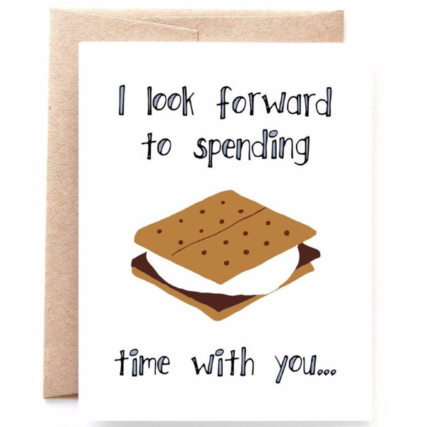 S'more Time Valentine's Day Card