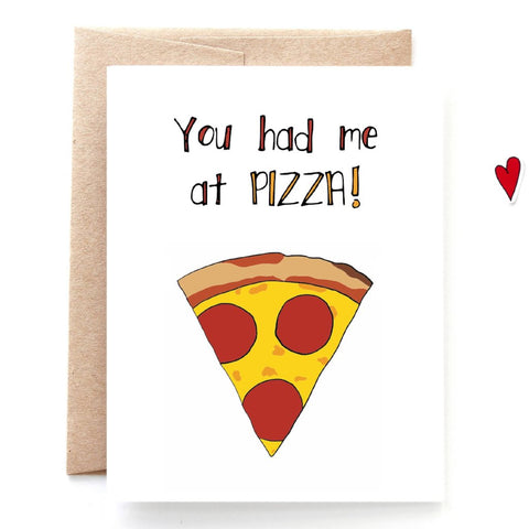 Had me at Pizza Love Card