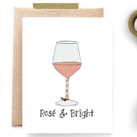 Rose & Bright Christmas Card