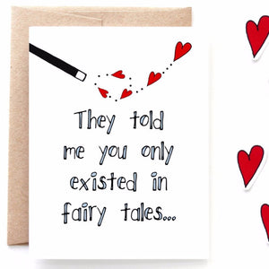 Fairy Tales Valentine's Day Card