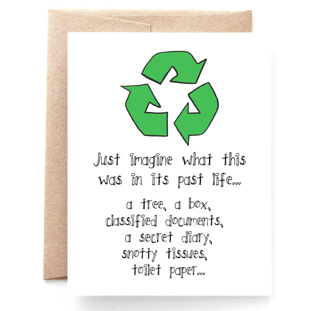 Recycled Birthday Card