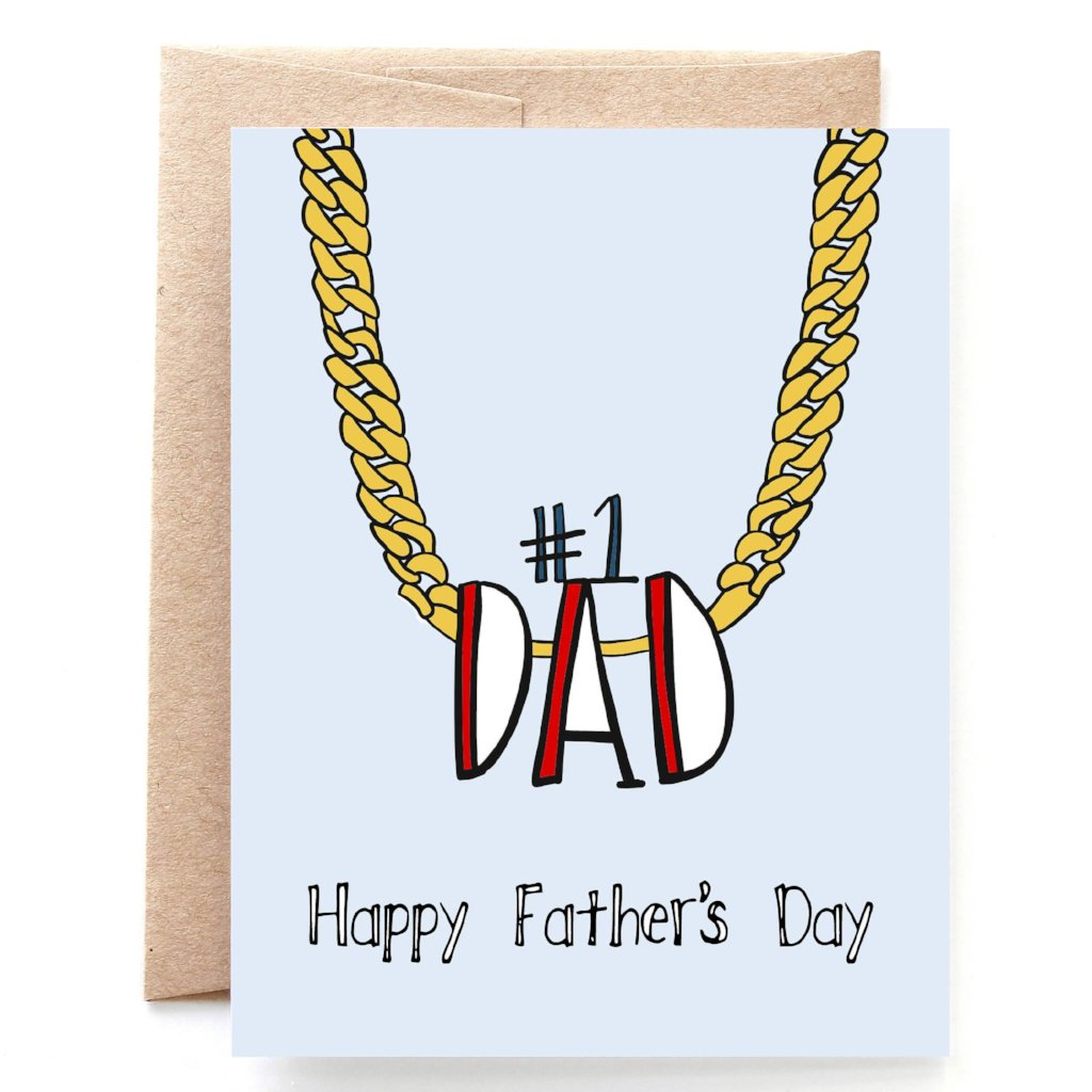 Dad Chain Father's Day Card