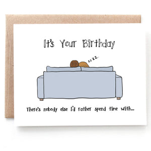 It's Your Birthday Card, Birthday Card for Wife or Husband