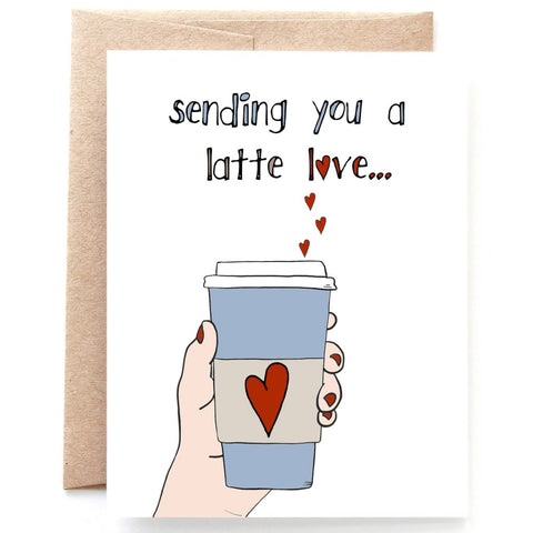 Latte Love Coffee Card