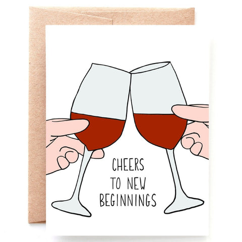 New Beginnings, Congratulations Card