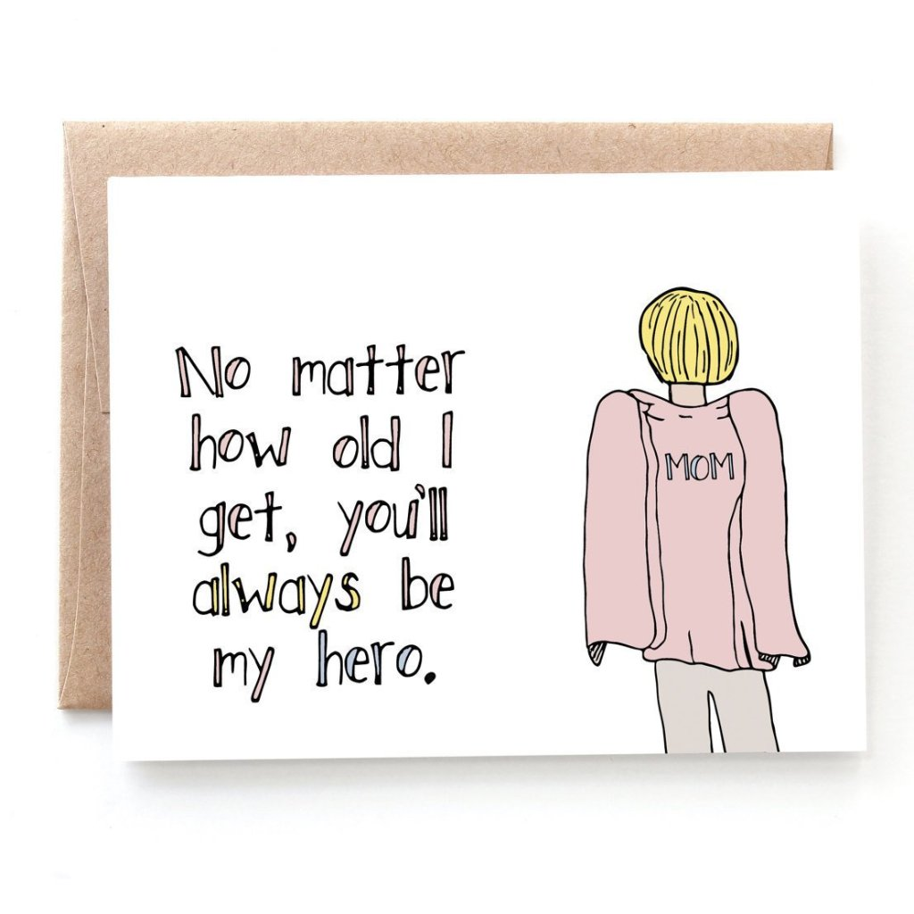 Mom Hero Mother's Day Card