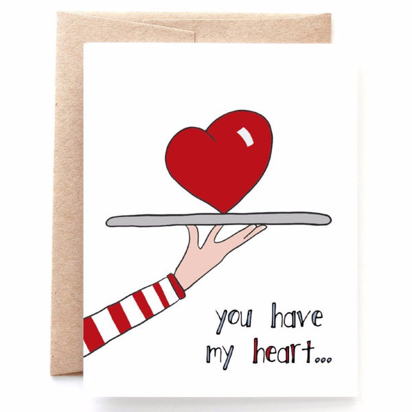 You Have My Heart, Anniversary Card, Valentine's Day Card