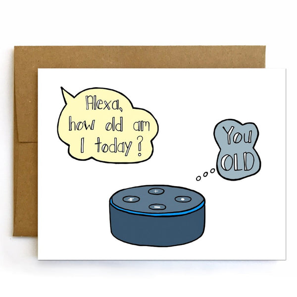 Alexa Birthday Card