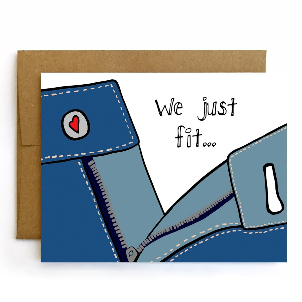 We Just Fit, Valentine's Day Card