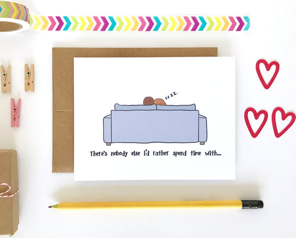 Nobody Else Valentine's Day Card, Anniversary Card
