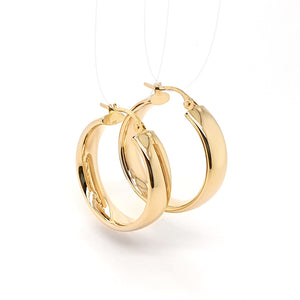 'Wide Hoop' Earrings