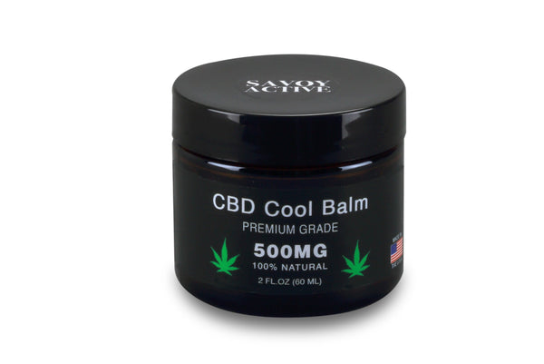 CBD Cool Balm - 500MG CBD - 100% Natural