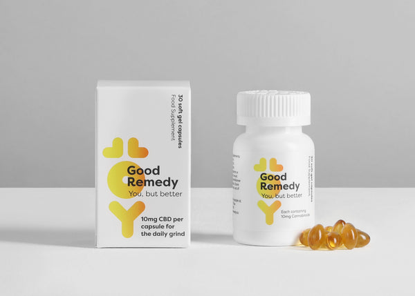 GOOD REMEDY CBD Softgel Capsules 10mg