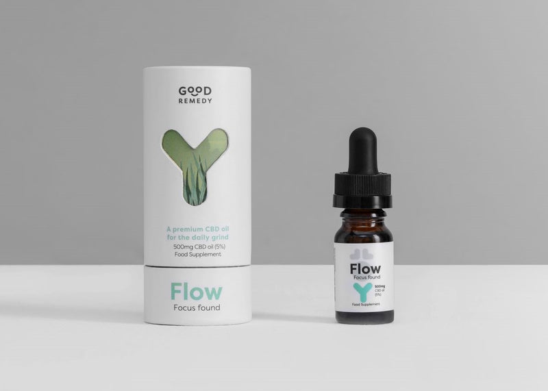 FLOW CBD OIL 500mg 5% (10ML)