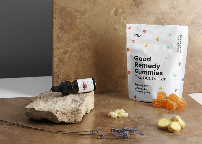 Healing mind & body: Mend oil + gummy bundle