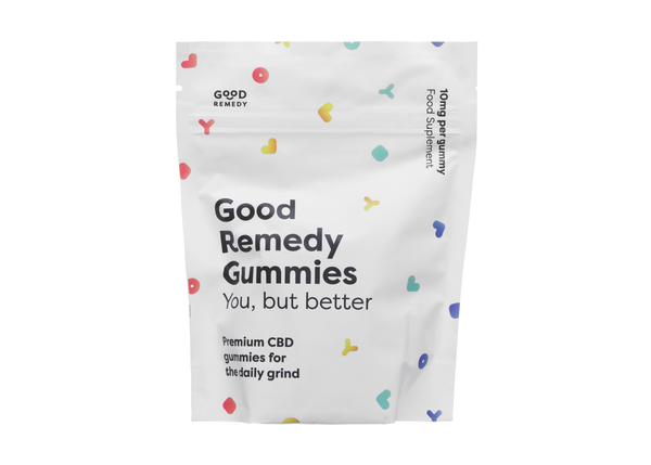 GOOD REMEDY CBD GUMMIES 10mg per gummy