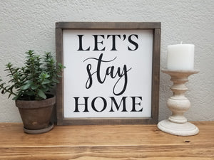 DIY Wood Sign Kit | Various Designs | Framed Board