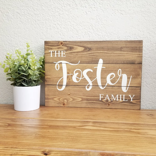 Family Name | Personalized