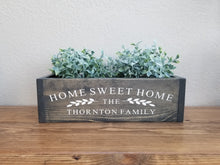 Load image into Gallery viewer, Table Centerpiece Box | Home Sweet Home