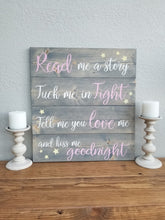 Load image into Gallery viewer, Read me a story | Nursery Decor