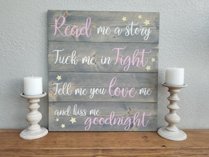 Read me a story | Nursery Decor