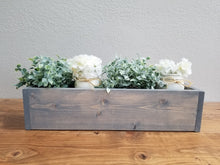 Load image into Gallery viewer, Table Centerpiece Box | Custom Family Name