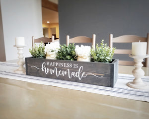 Table Centerpiece Box | Happiness is Homemade