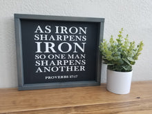 Load image into Gallery viewer, Iron Sharpens Iron | Proverbs 27:17