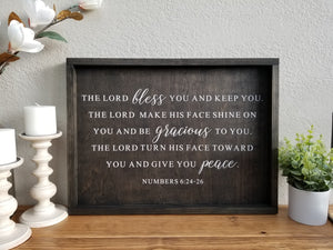 Lord bless you and keep you | Numbers 6:24-26