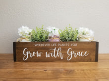 Load image into Gallery viewer, Table Centerpiece Box | Custom Quote or Saying