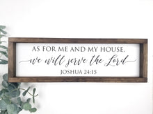 Load image into Gallery viewer, As for me and my house | Joshua 24:15