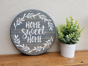 DIY Wood Sign Kit | Various Designs | Round Board