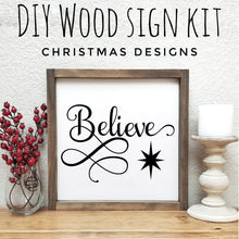 Load image into Gallery viewer, Christmas DIY Wood Sign Kit | Various Designs