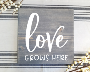 DIY Wood Sign Kit | Various Designs | Square Stained Board
