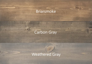 Wood Sign Kit | Square Stained Board | US OCP Event