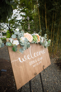 Wedding Sign- Customized
