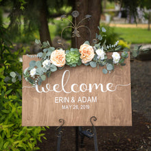 Load image into Gallery viewer, Wedding Sign- Customized