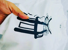 Load image into Gallery viewer, The ¥€$ Double Logo White T-shirt [¥€$ BY Tosh Yagishita]
