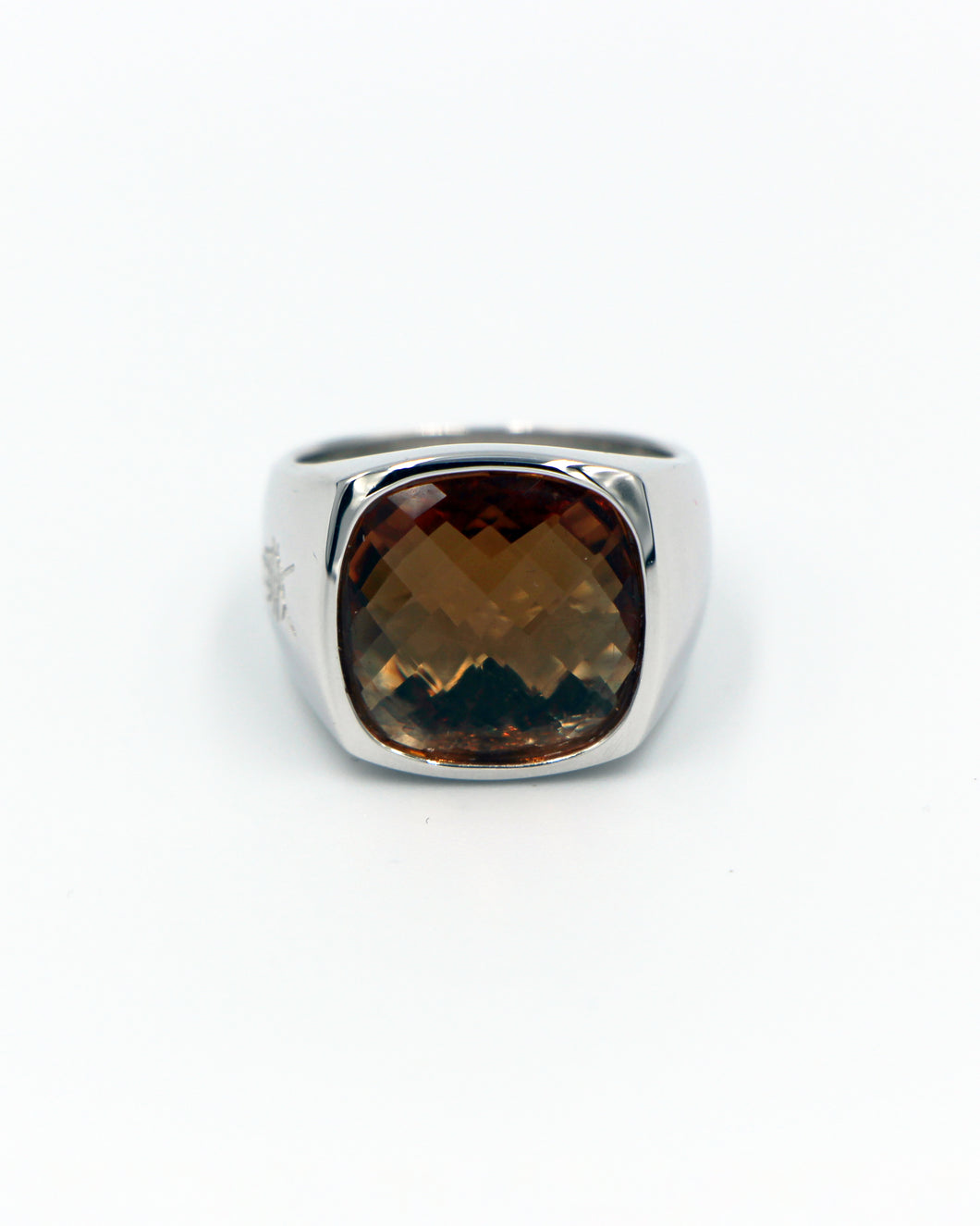Ombre Color Changing Signet Premium 925 Silver Ring