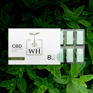 Wild Health CBD Cool Mint Chewing Gum