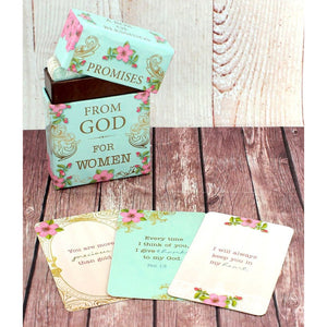 101 Promises From God For Women Promise Cards - Bella Faith - Christian Shirts for Women - Women's Faith Based Apparel - Christian Clothing for Women - Christian Jewelry and Gifts for Women - Trendy Christian Tees