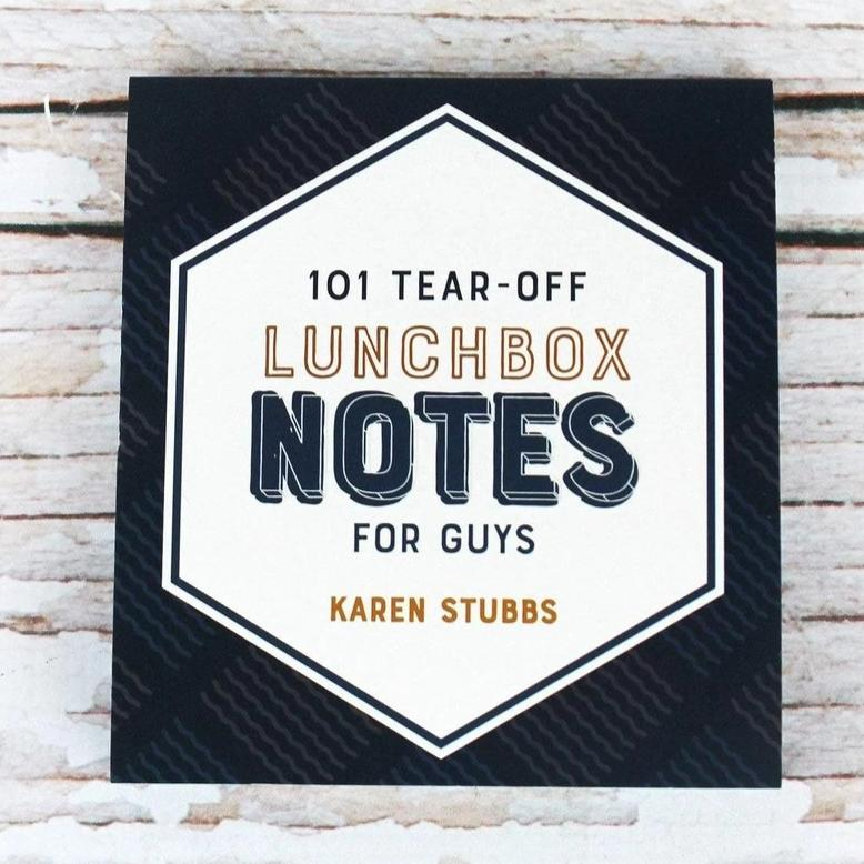 101 Tear-Off Lunchbox Notes for Guys - Bella Faith - Christian Shirts for Women - Women's Faith Based Apparel - Christian Clothing for Women - Christian Jewelry and Gifts for Women - Trendy Christian Tees