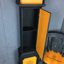 Load image into Gallery viewer, Veuve Cliquot Tall clock and matching chair