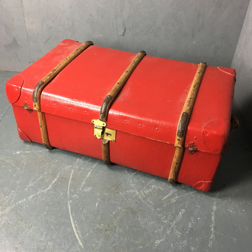 Red Vintage Chest/Trunk