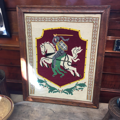 Knight on Horseback Tapestry