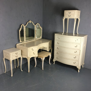 Bedroom set including Matching wardrobe
